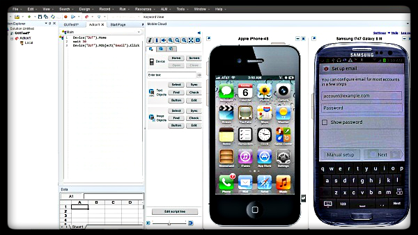 QTP pour tester les mobiles